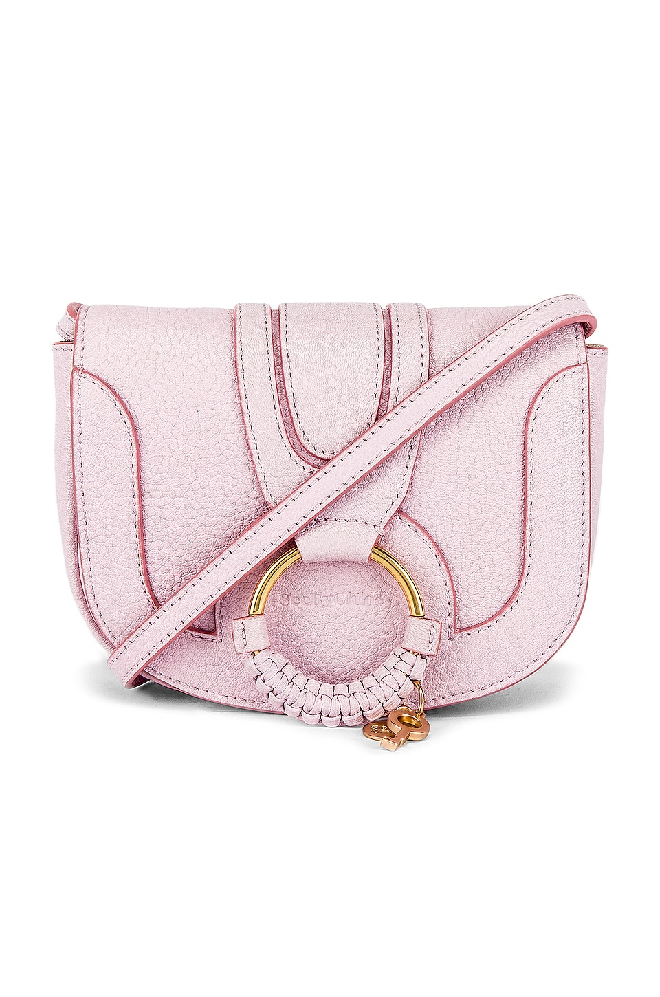 See By Chloe Mini Hana Crossbody in Smooth Pink
