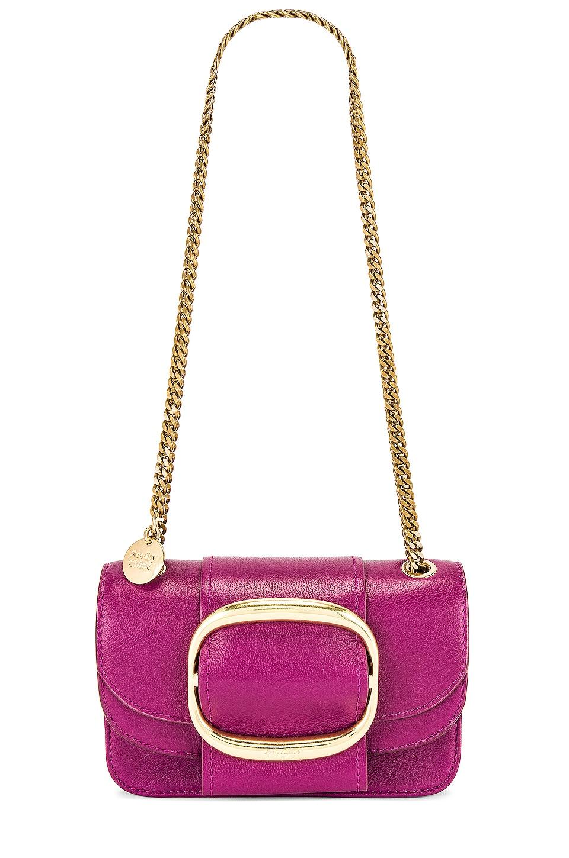 See By Chloe Mini Hopper Crossbody in Pulpy Purple