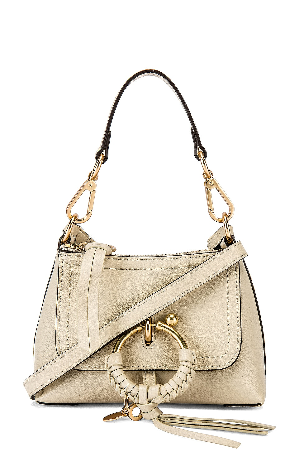 See By Chloe Joan Mini Crossbody in Cement Beige
