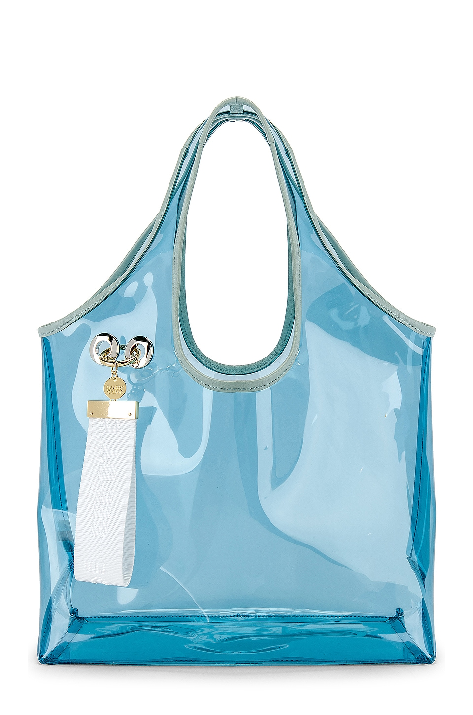 See By Chloe PVC Jay Tote in Icy Blue