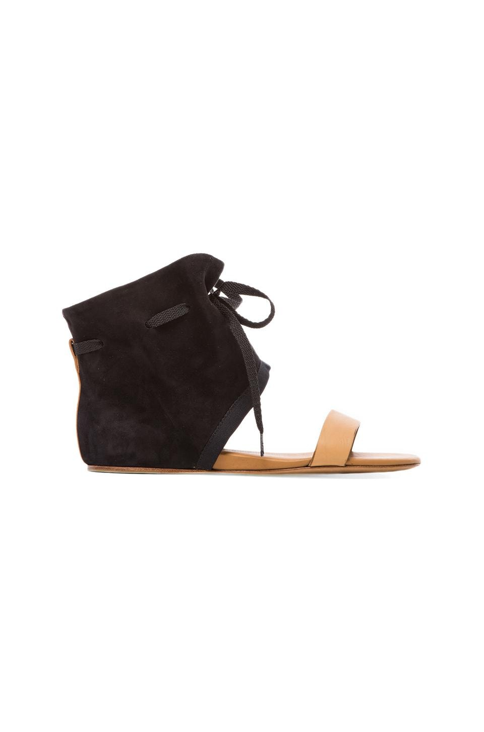 See By Chloe Suede Flat in Black