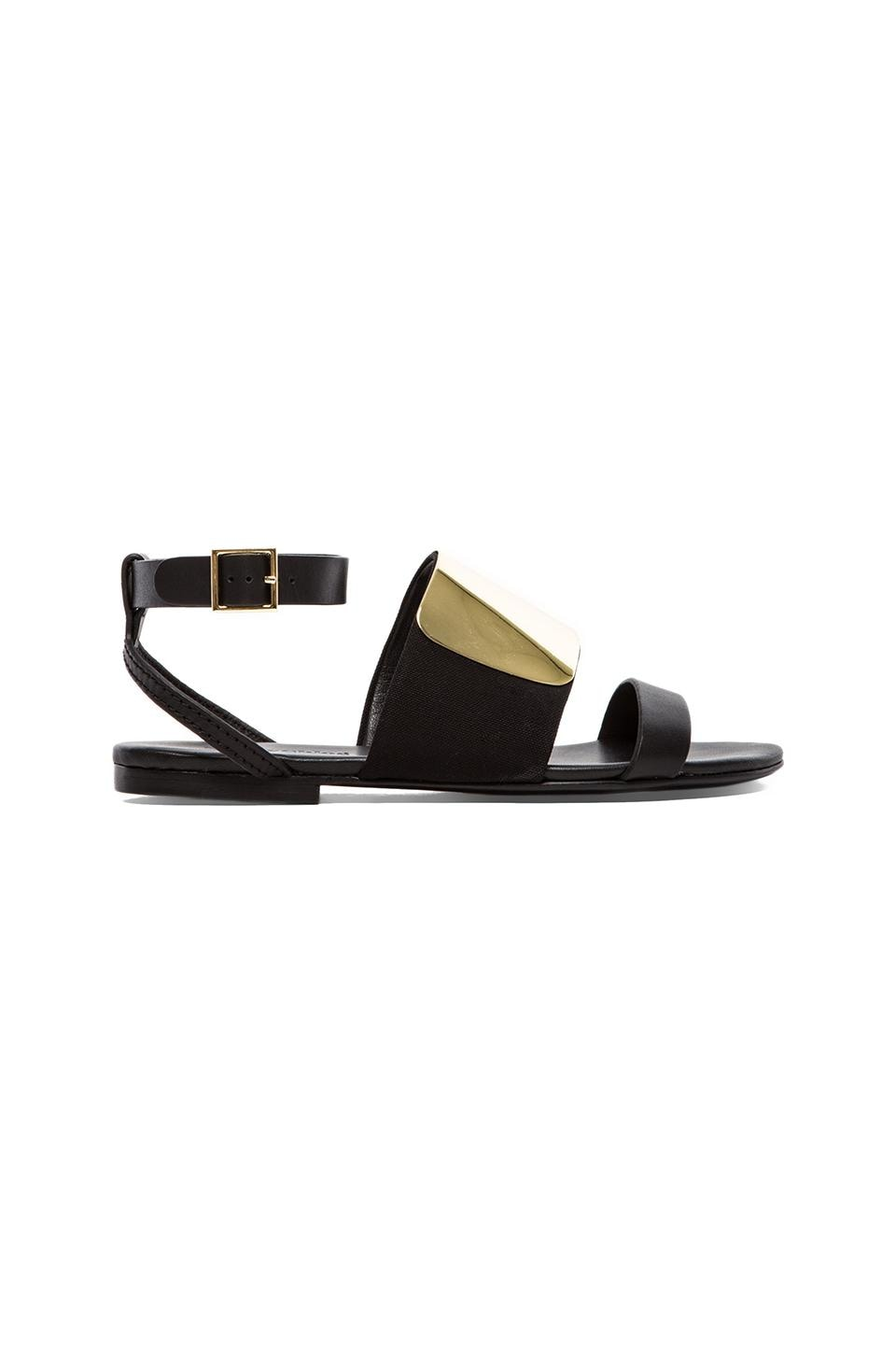 See By Chloe Flat Sandal in Black