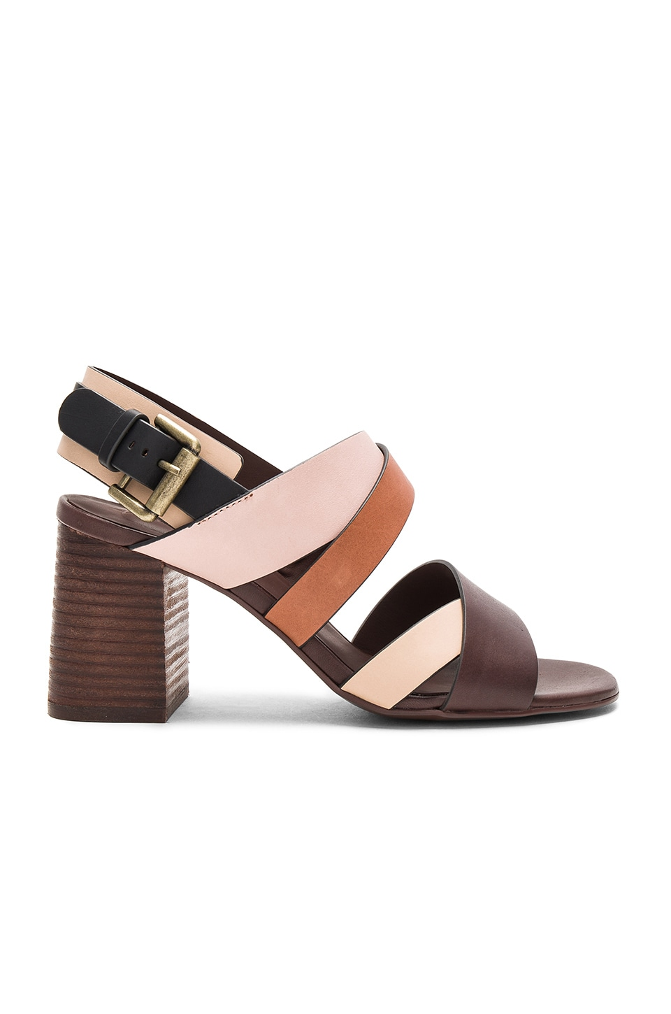 See By Chloe Strappy Heel in Multi
