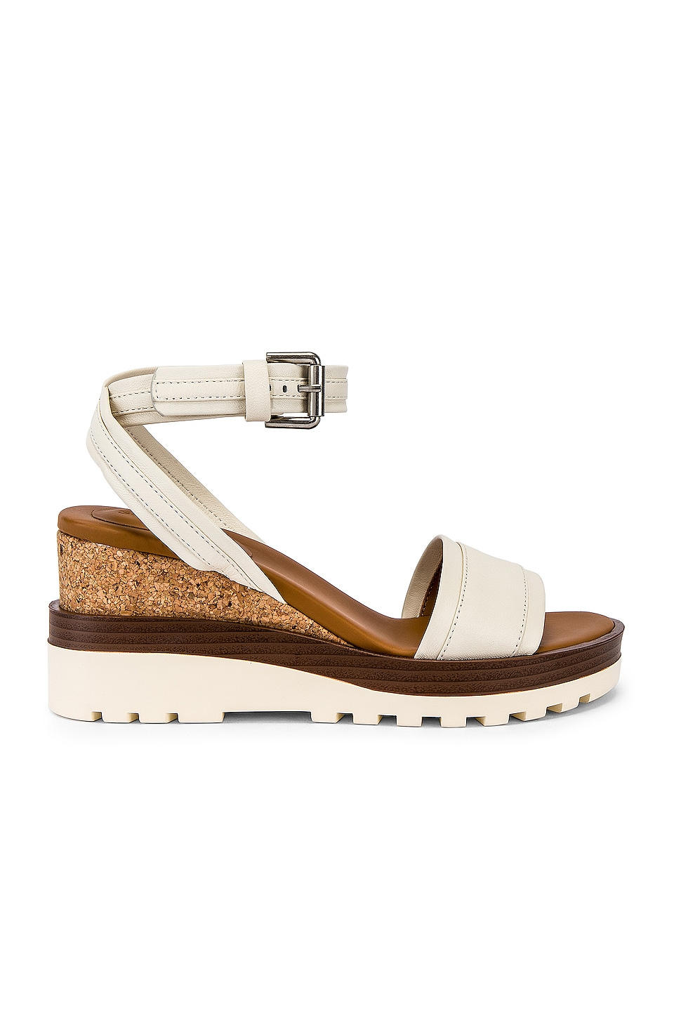 See By Chloe Colorblock Wedge in Chalk