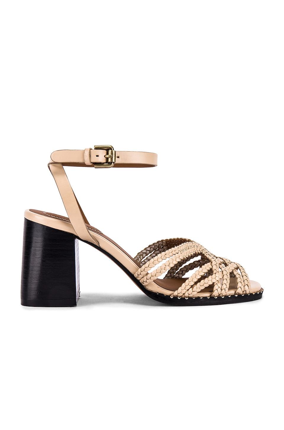 See By Chloe Braided Sandal in Beije