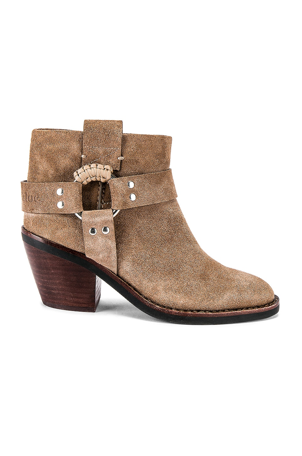 See By Chloe Western Bootie in Taupe