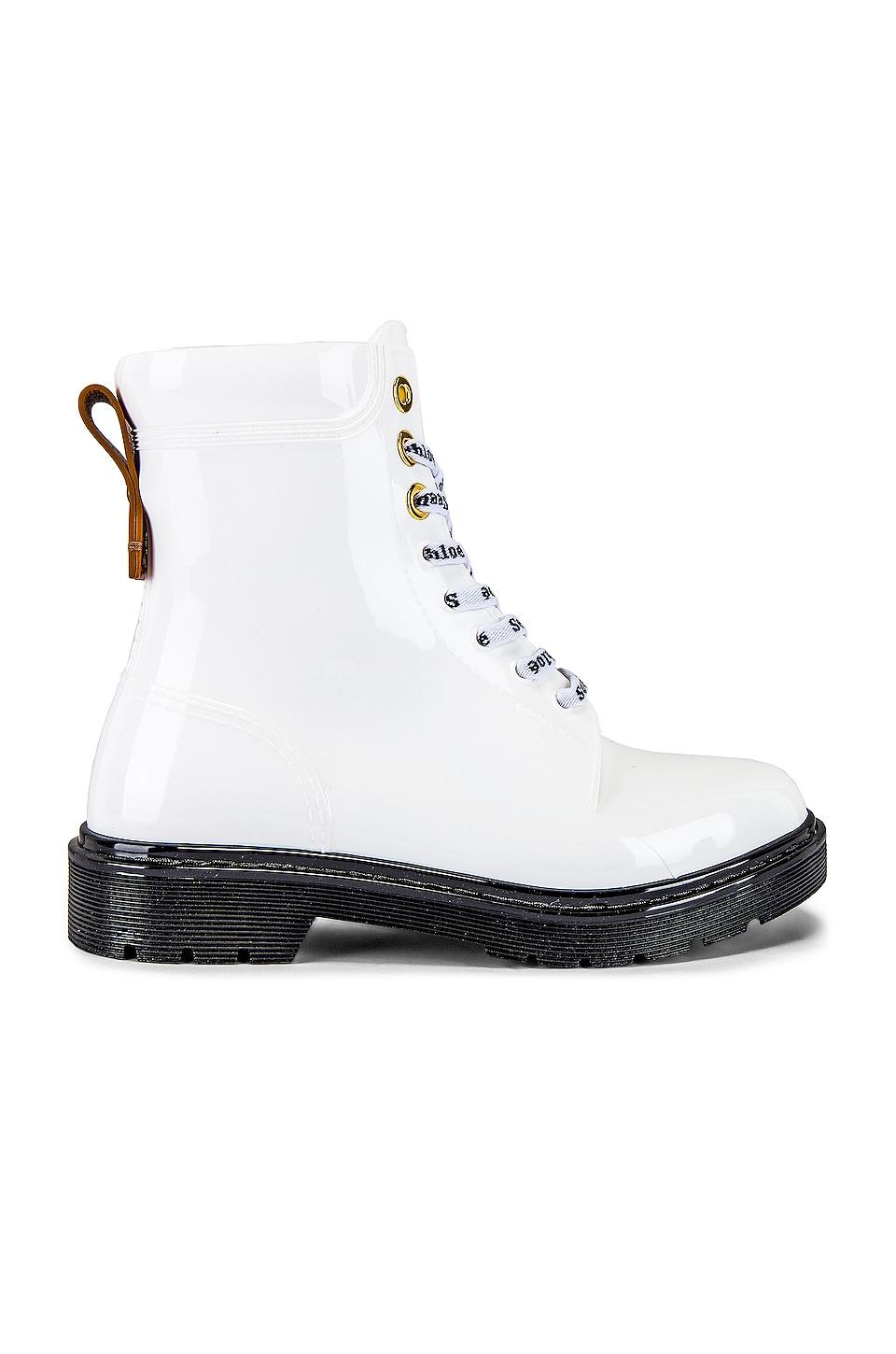 See By Chloe Florrie Boot in Bianco & Suola Nera