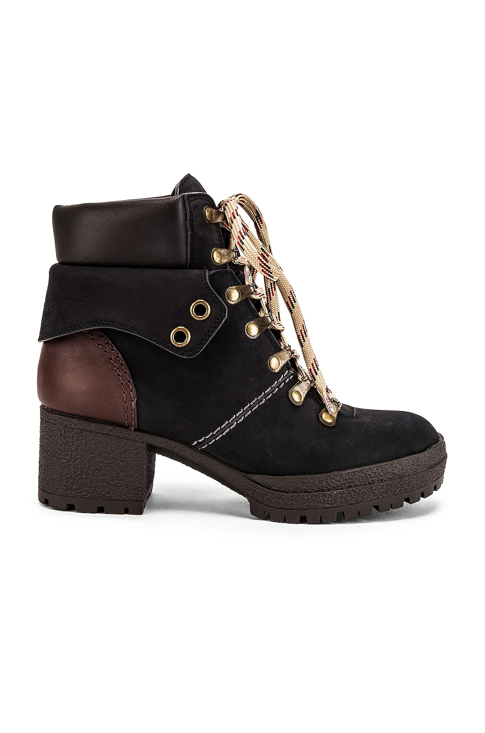See By Chloe Eileen Hiker Boot in Nero