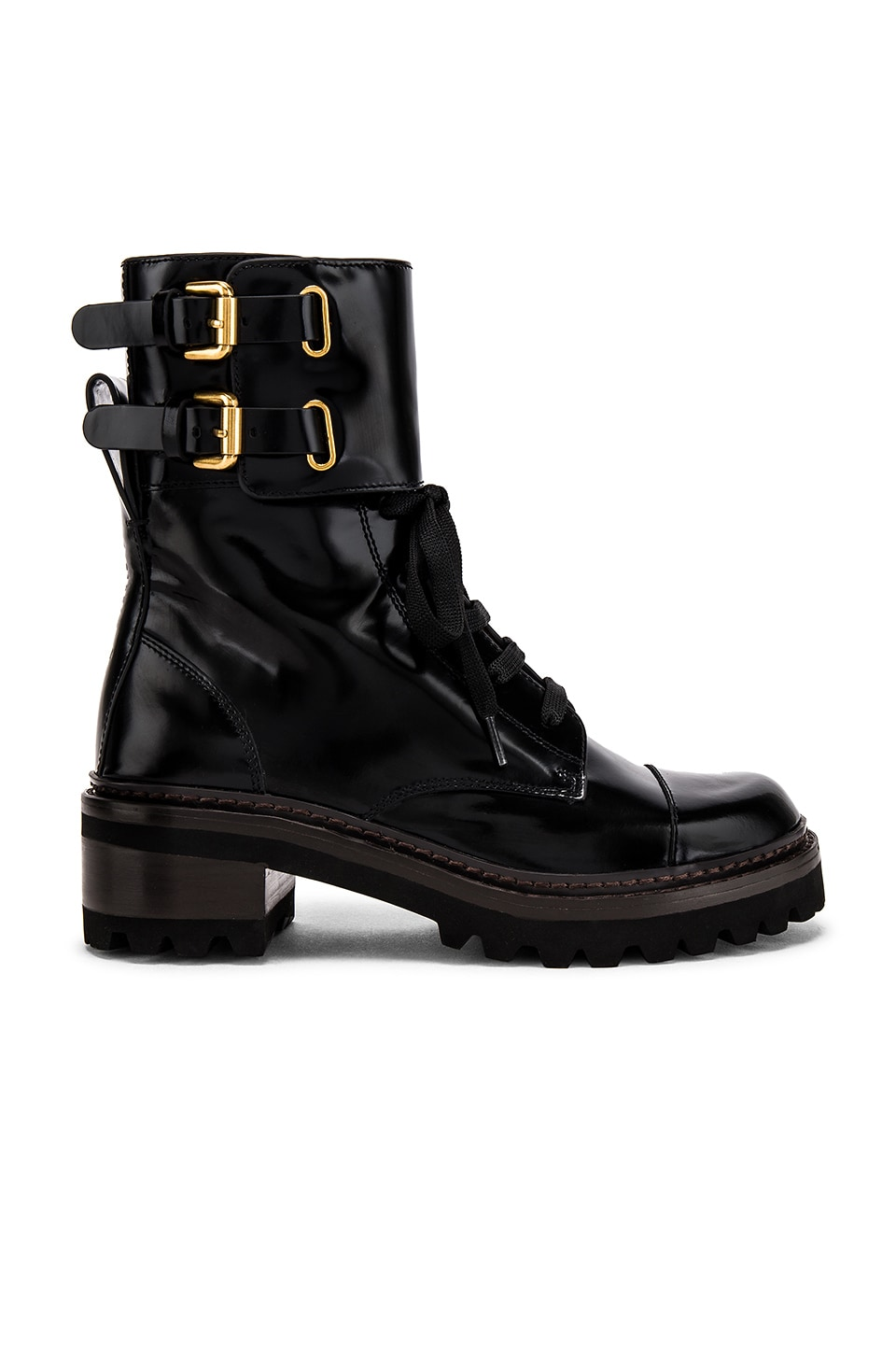 See By Chloe Mallory Boot in Nero