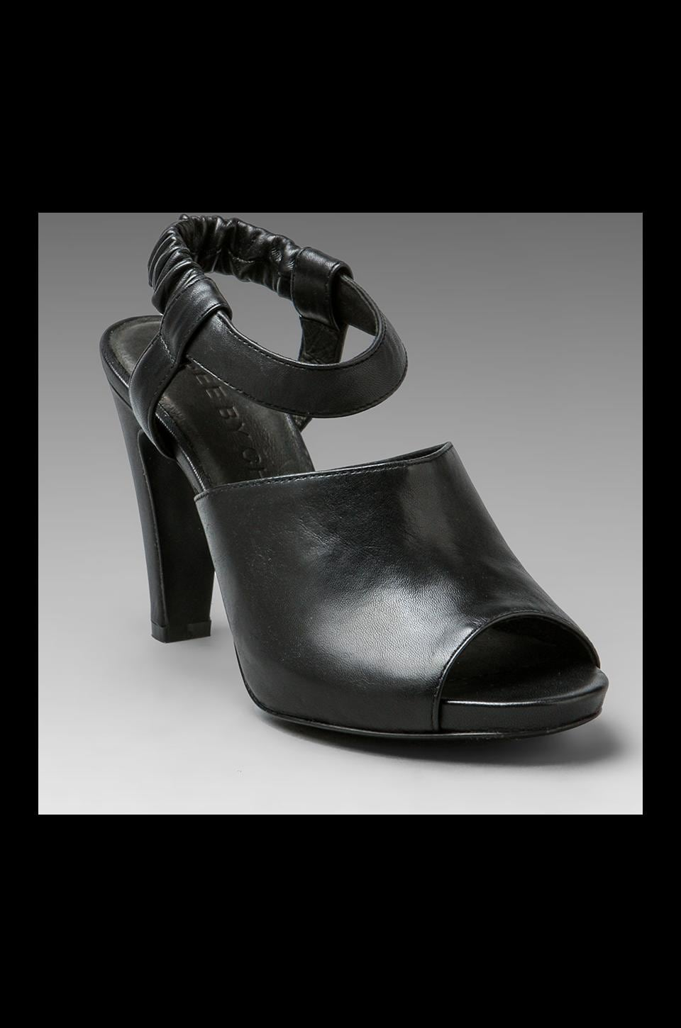 See By Chloe Sandal Heel in Black Nappa