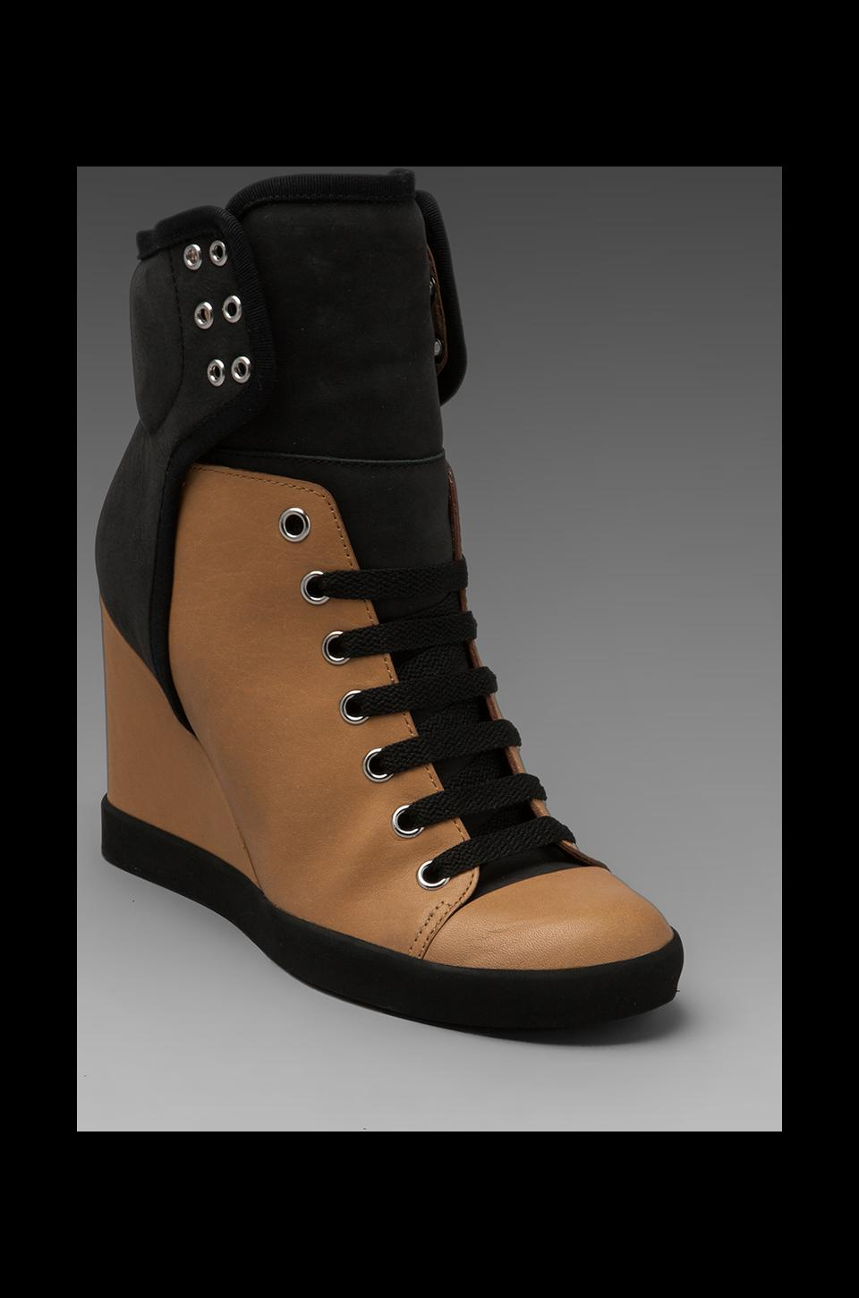 See By Chloe X Sam Wedge Sneaker in Beige
