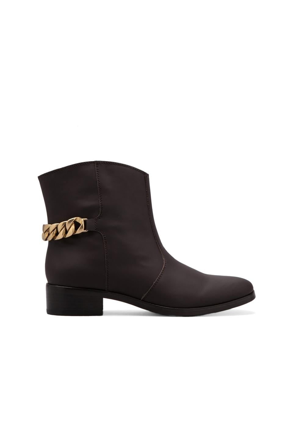 See By Chloe Chain 30mm Bootie in Moka