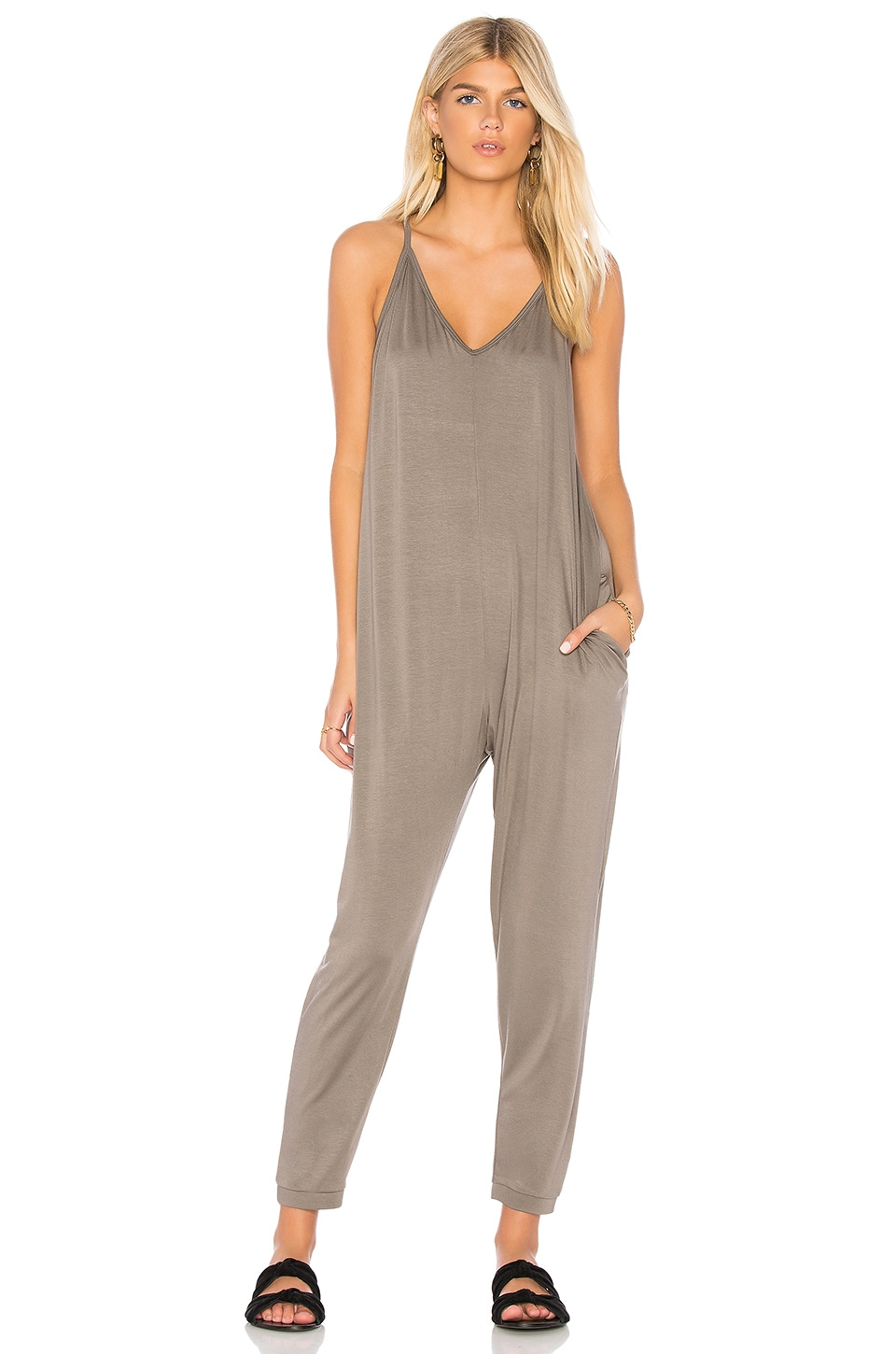 SEN Muse Jumpsuit in Gray