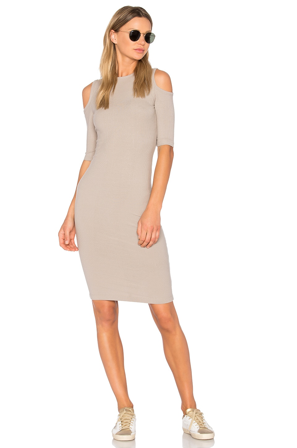 sen Korie Dress in Cobblestone