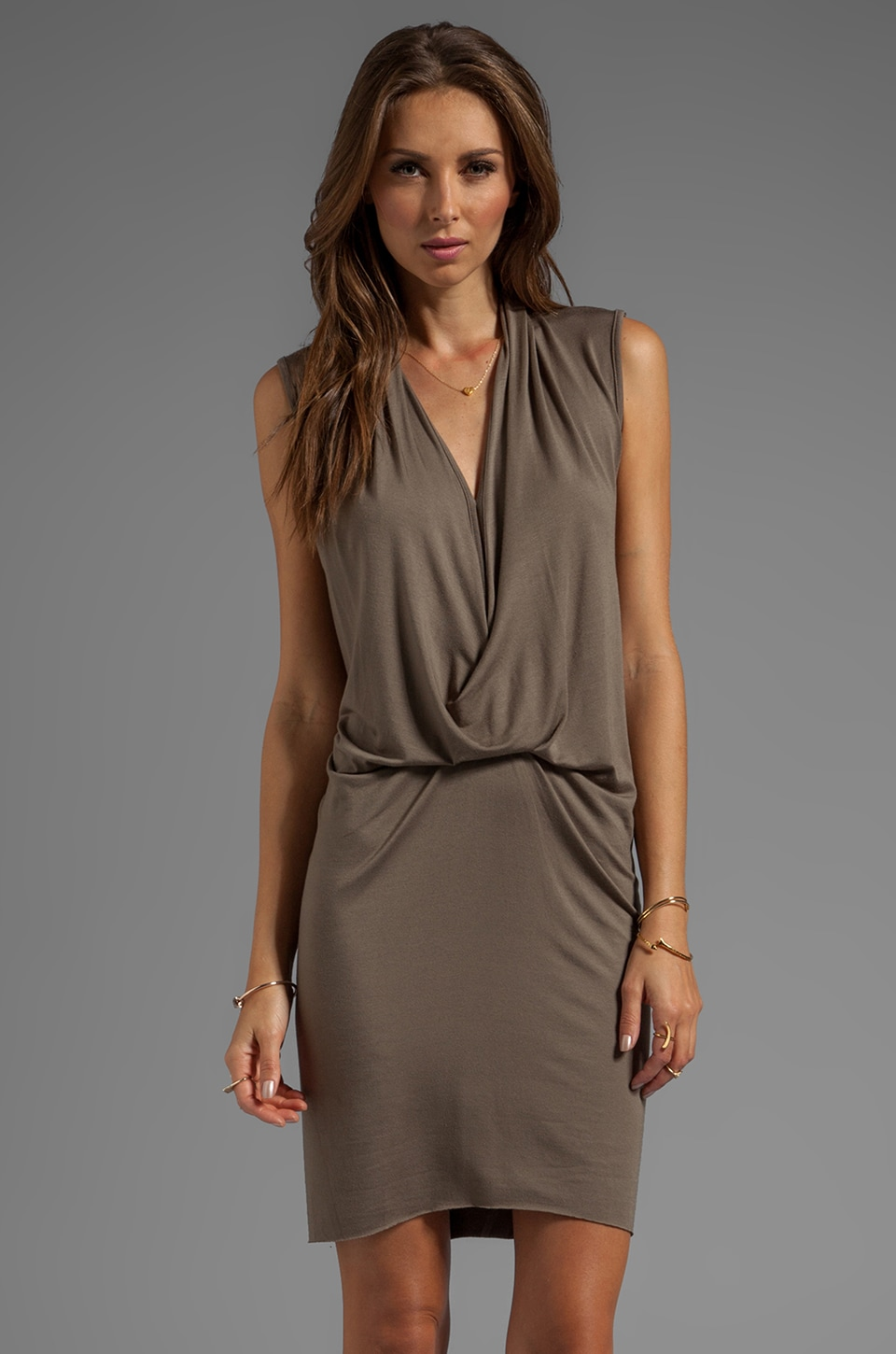 sen Lula Dress in Olive