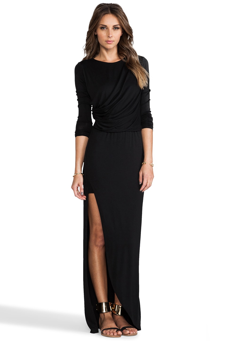 sen Rasha Dress in Black