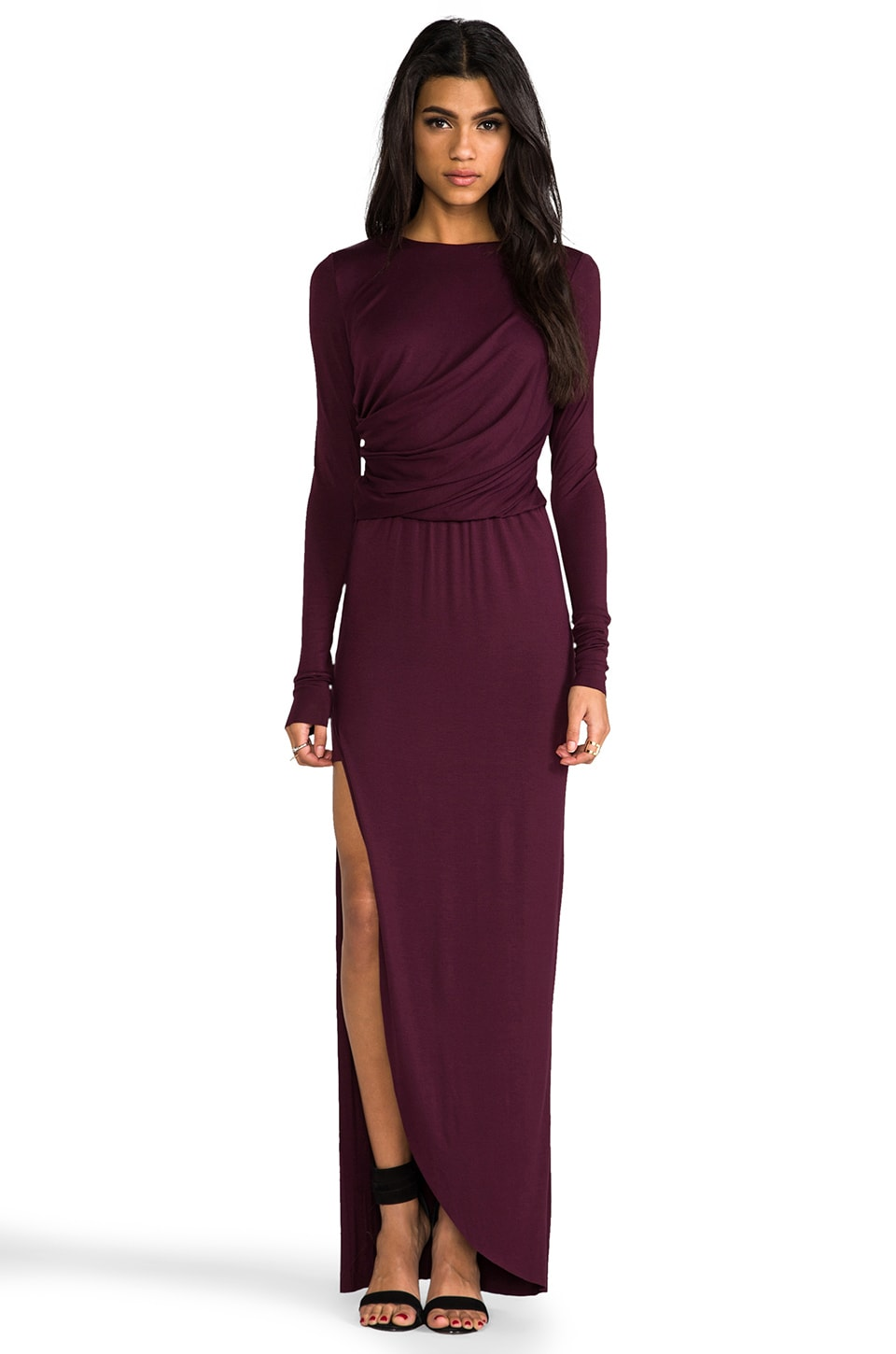 sen Rasha Dress in Burgundy