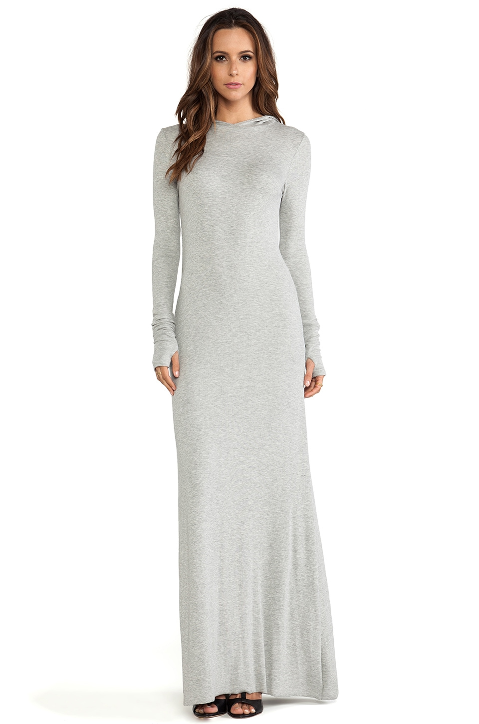 sen Romina Dress in Heather Grey