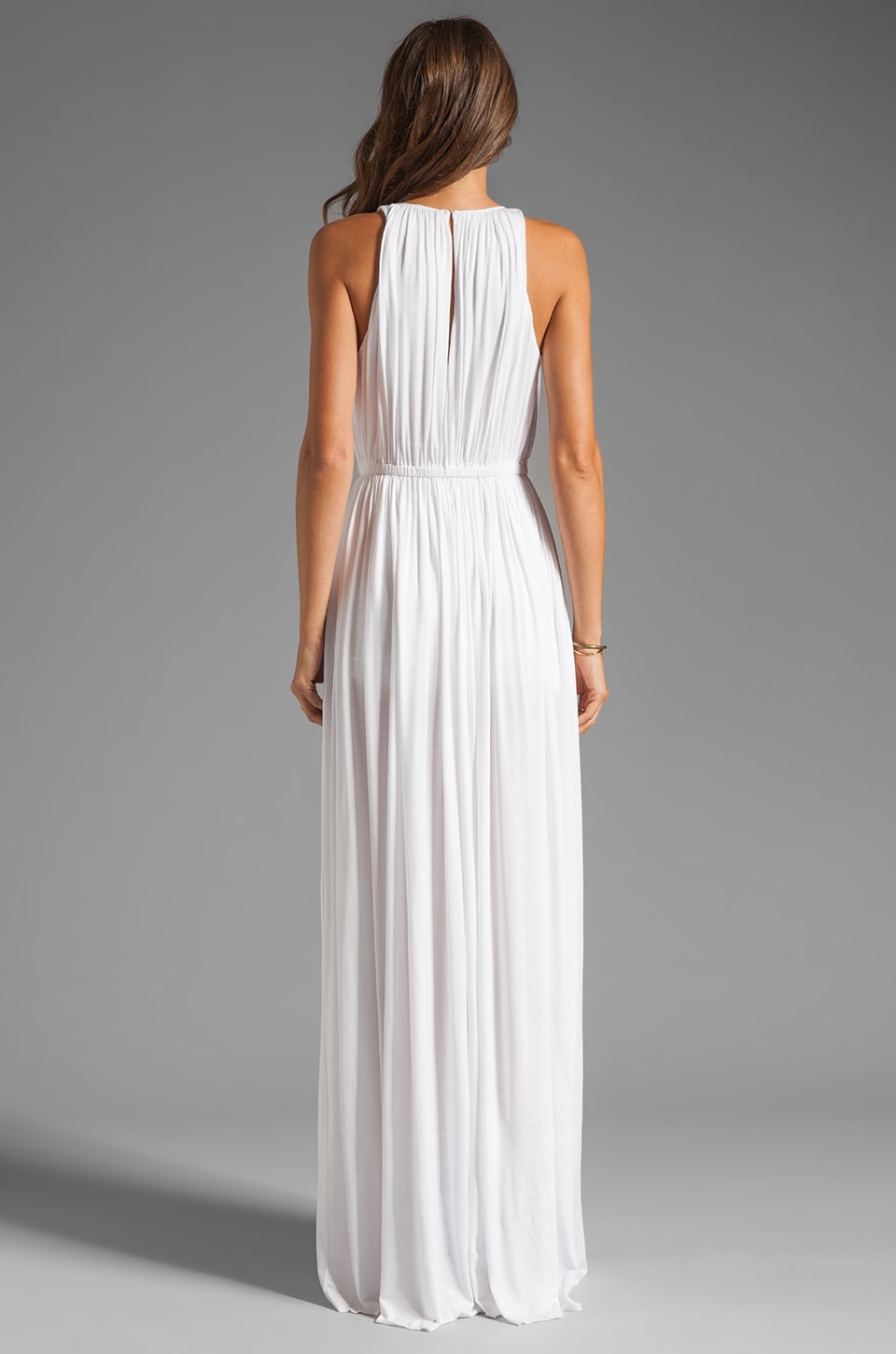 sen Flaviana Dress in White