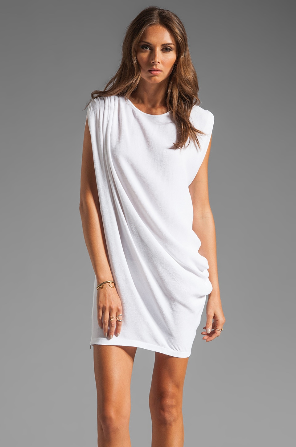 sen Ilona Dress in White