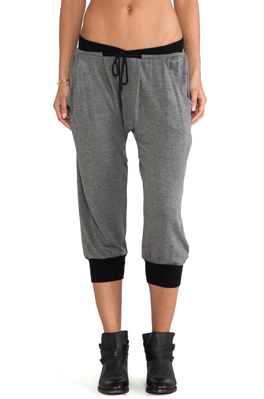 sen Trina Pants in Charcoal & Black