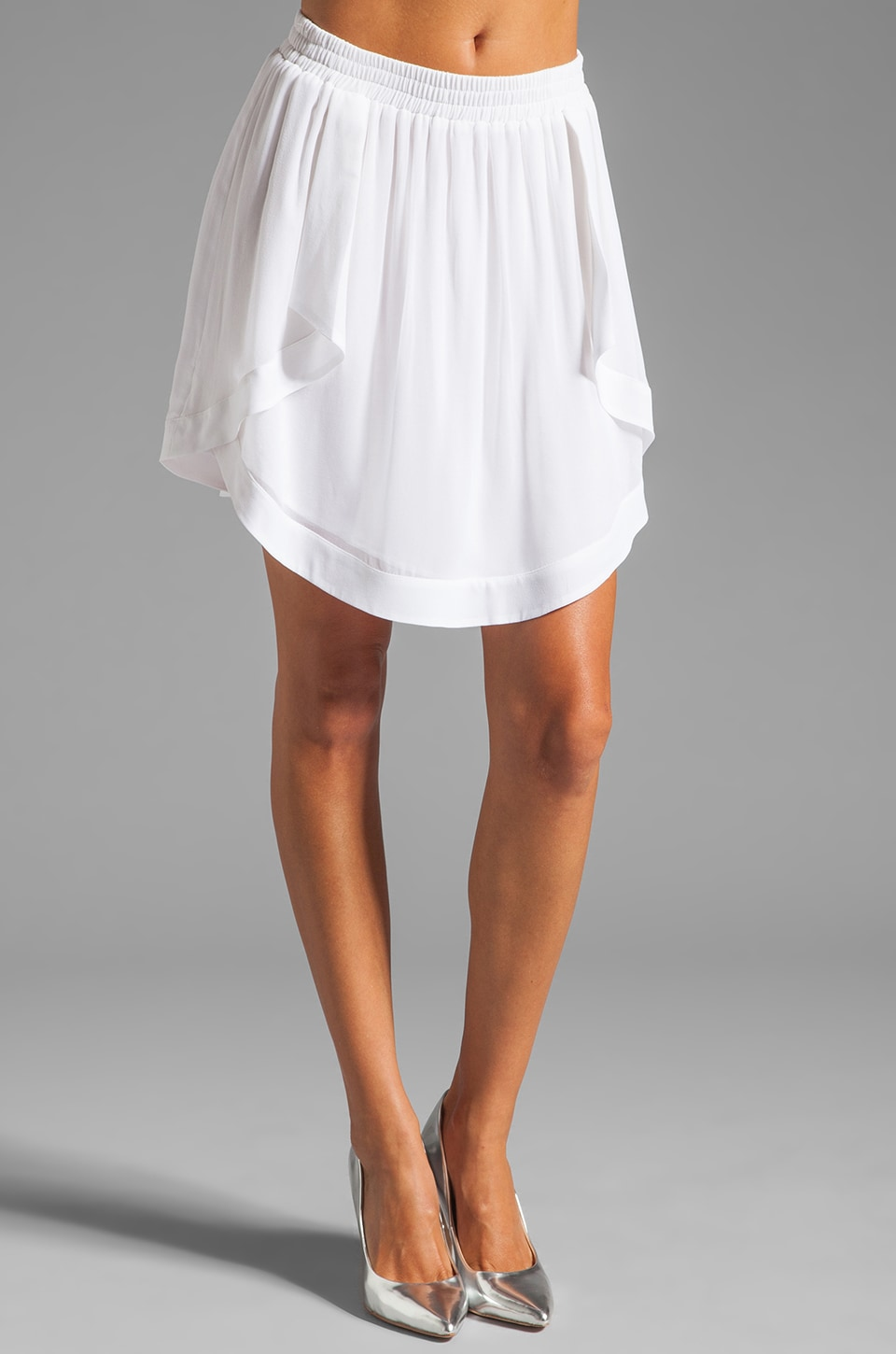 sen Alexa Skirt in White