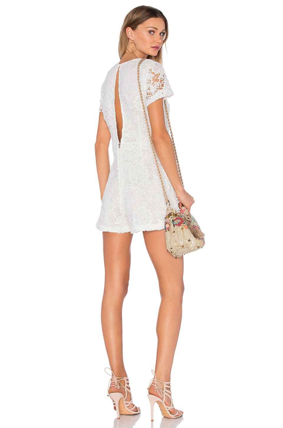 sen Maxwell Romper in White