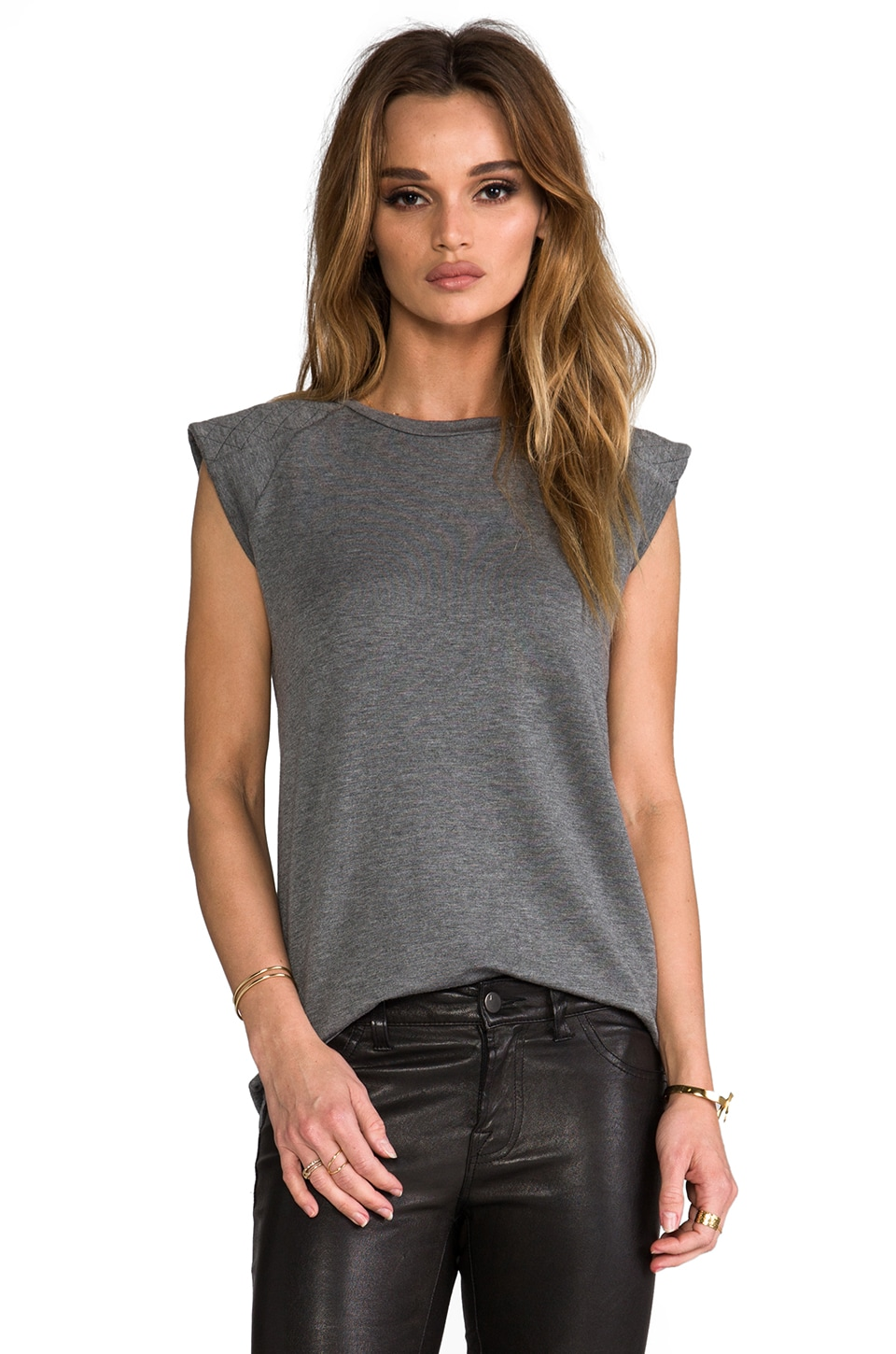 sen Lara Top in Heather Grey