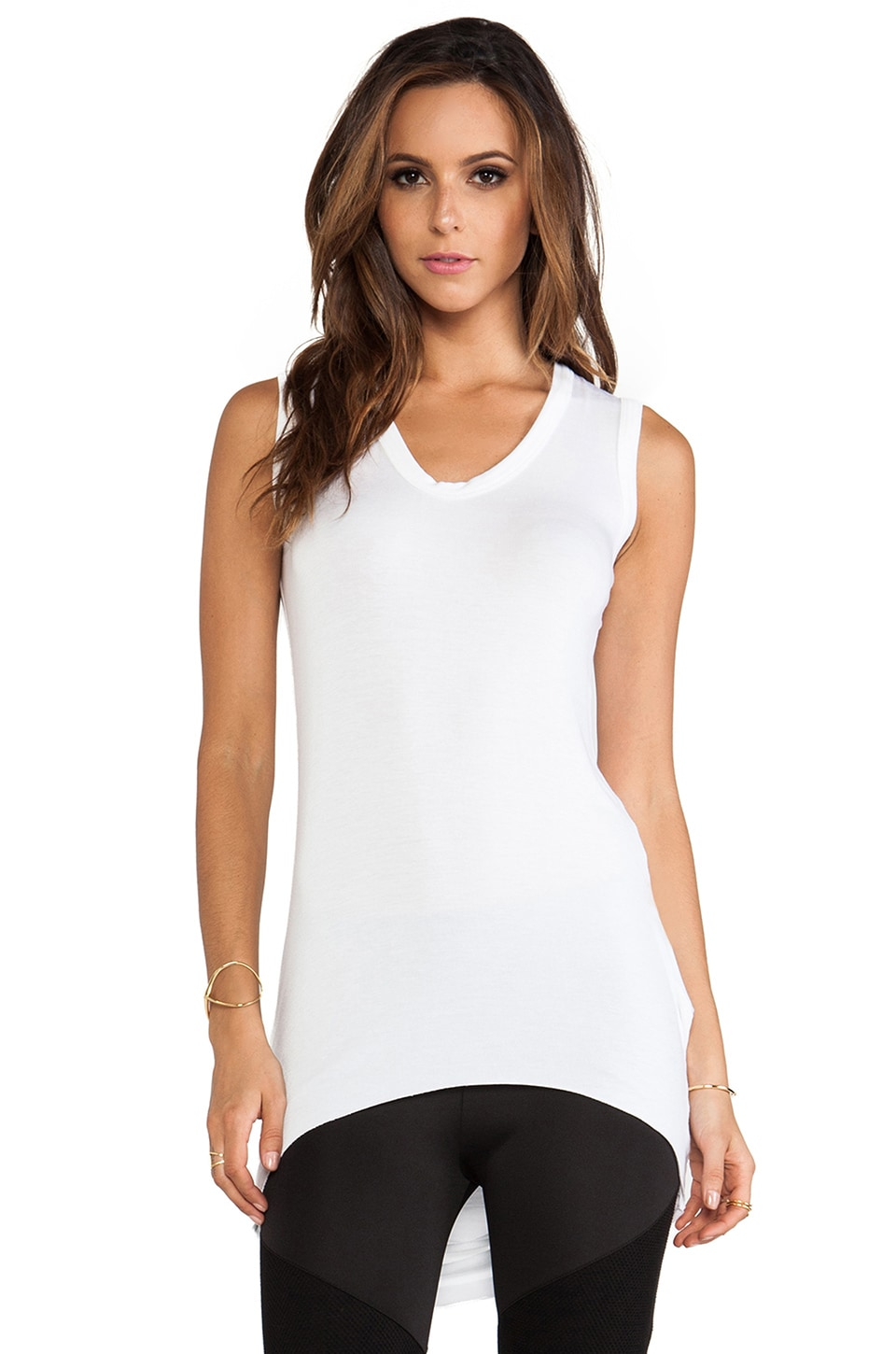 sen Kamilla Tank in White