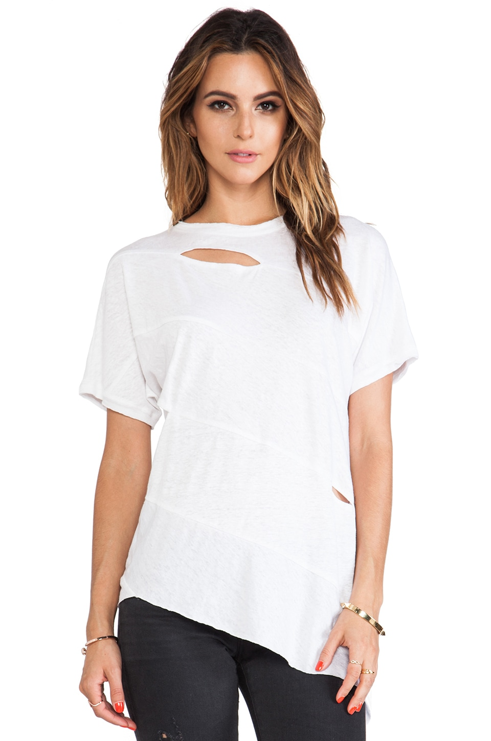 sen Paz Top in White