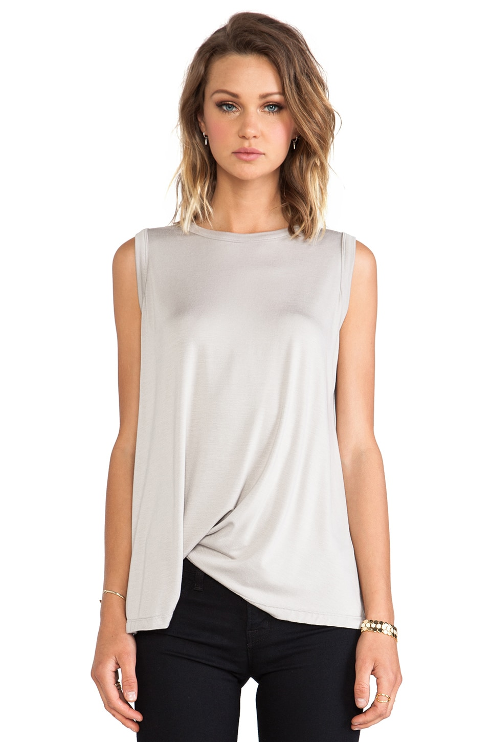 sen Tania Top in Oyster