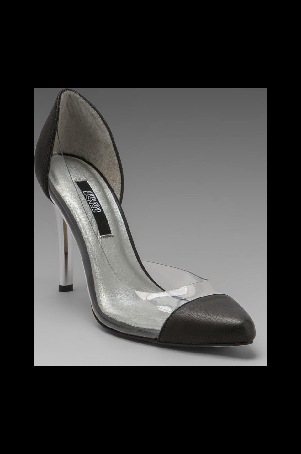 SENSO Yugo Pump in Black/Clear