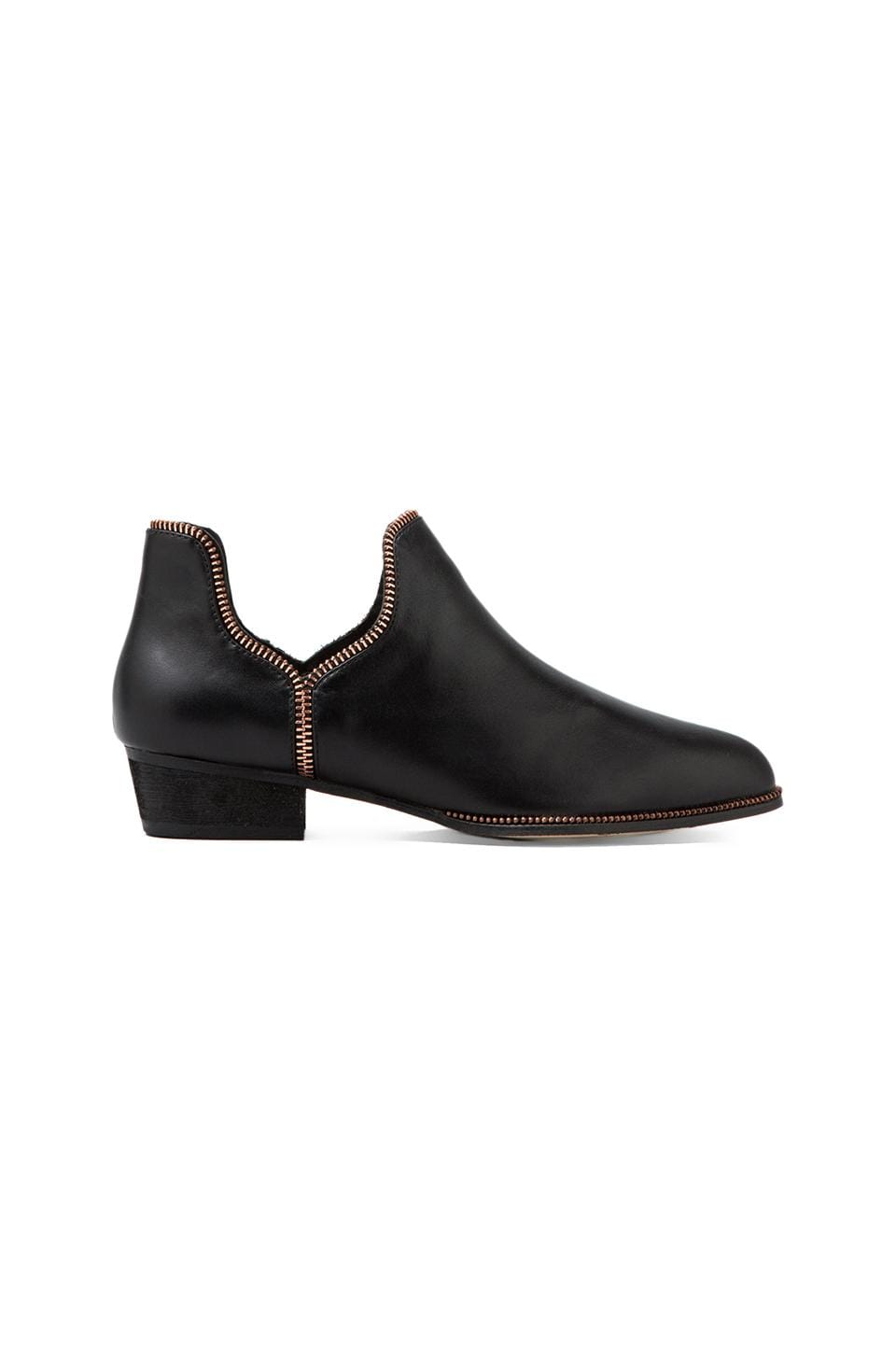 SENSO Bertie IV Boot in Black/Rosegold