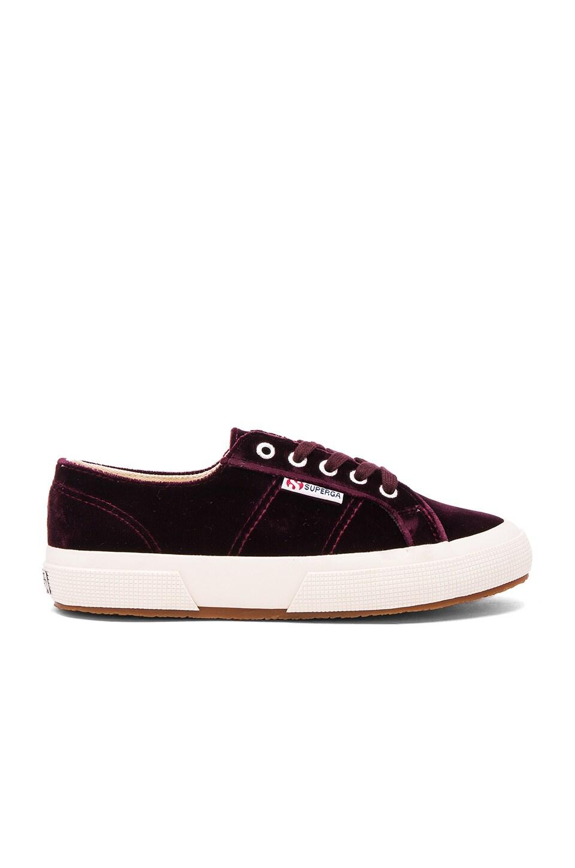Superga 2750 Cotu Classic Sneaker in Violet Prune