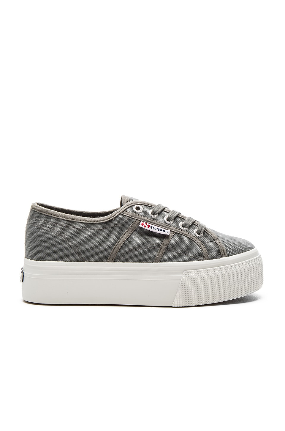 Superga 2790 Platform Sneaker in Grey Sage