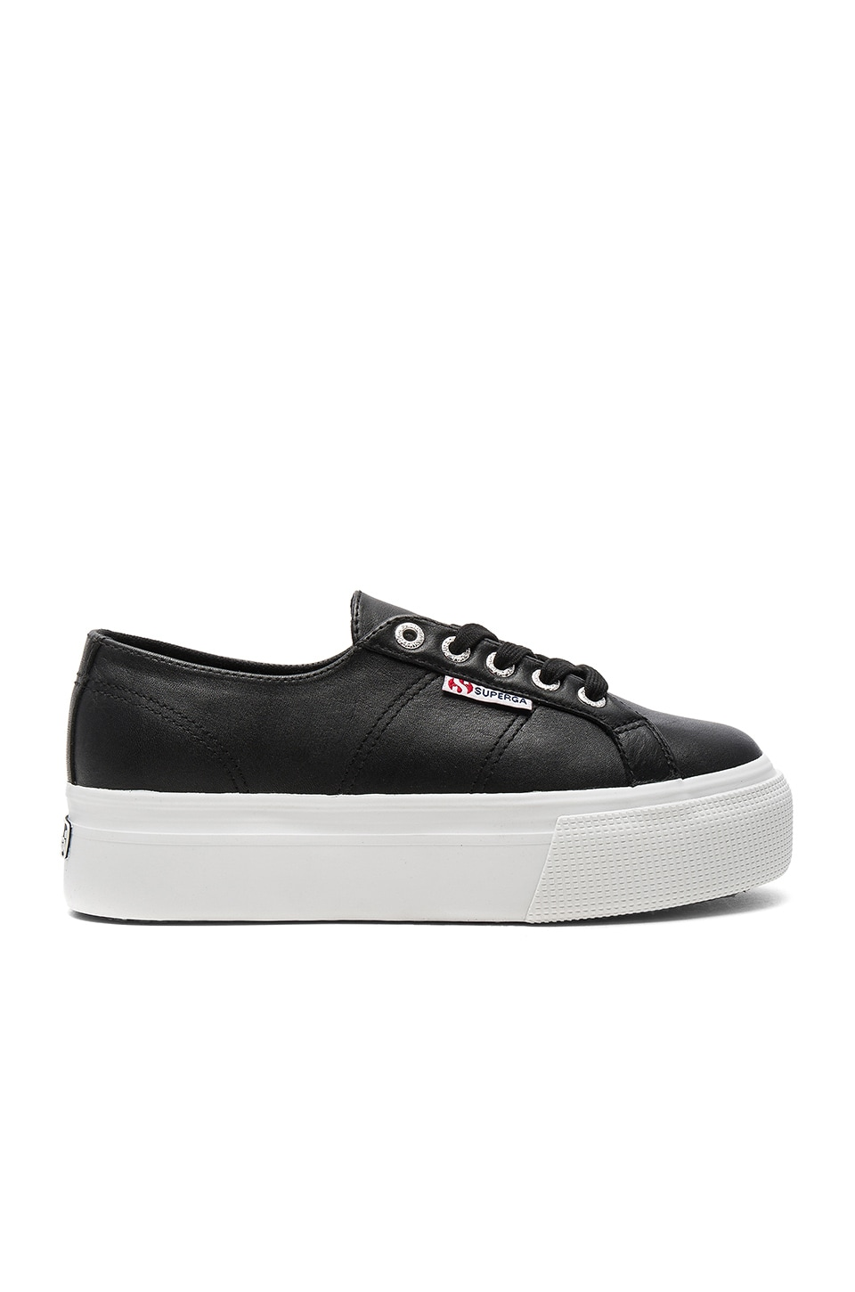 Superga 2790 Fglw Sneaker in Black
