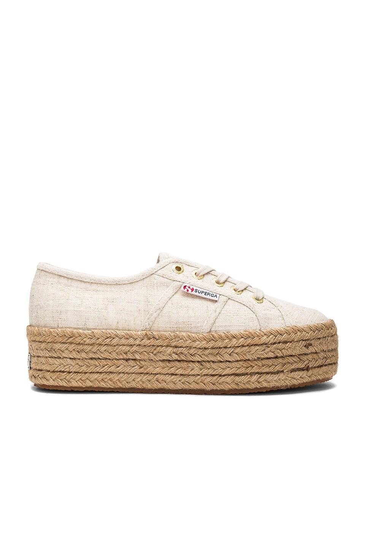 Superga 2790 Sneaker in Natural Linen