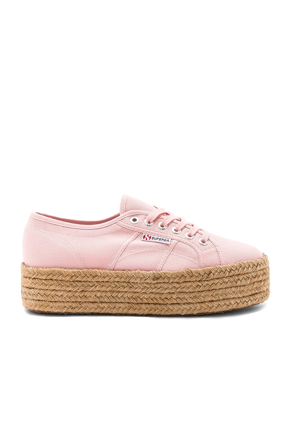 Superga 2790 Sneaker in Vintage Light Pink