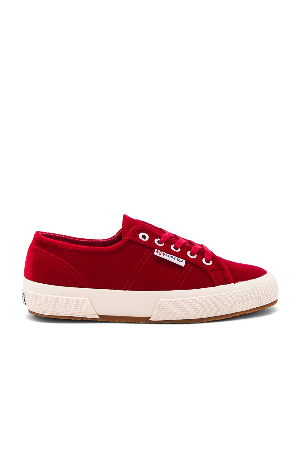 2750 Velvet Sneaker by Superga