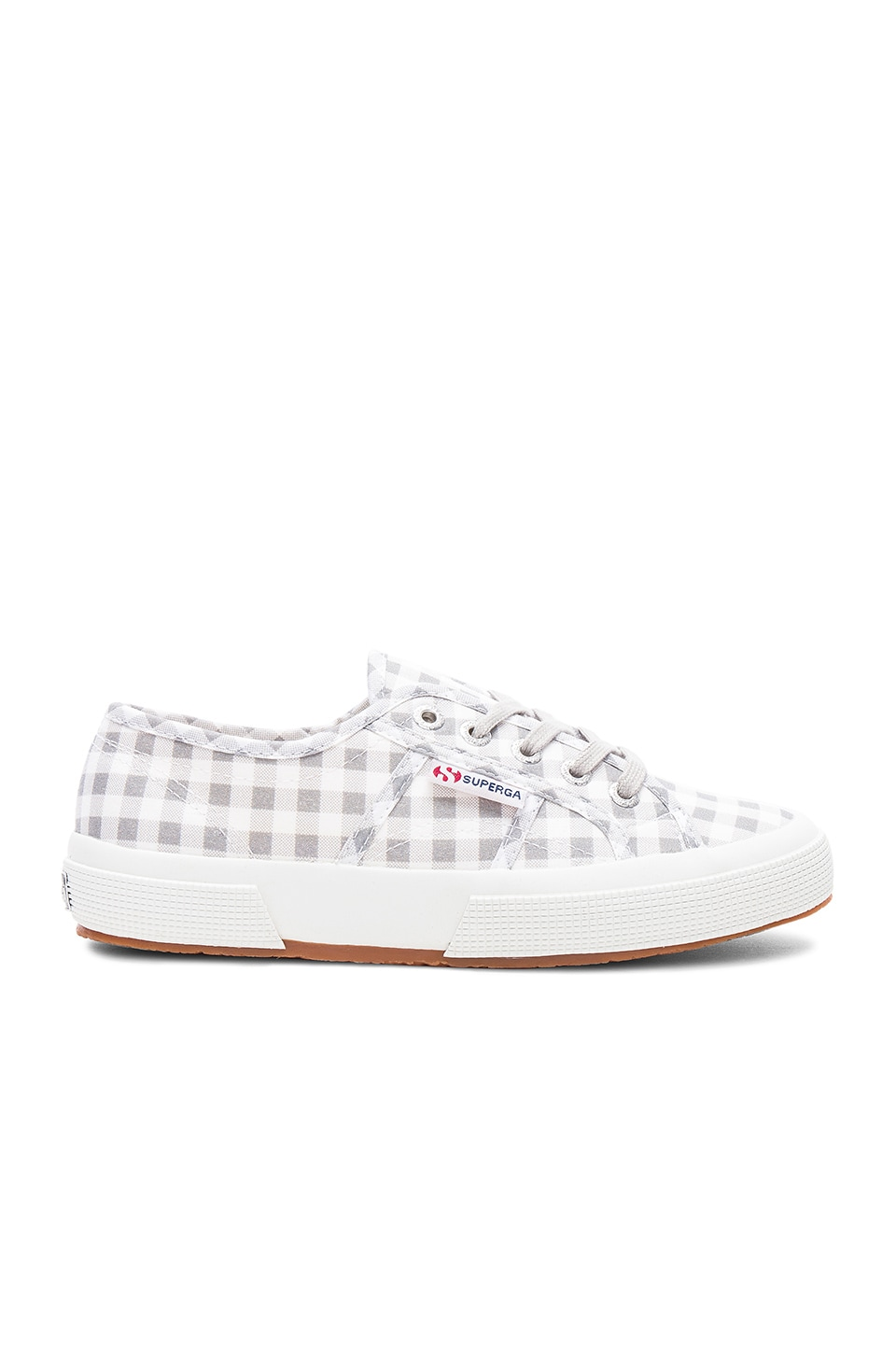 2750 Gingham Sneaker by Superga