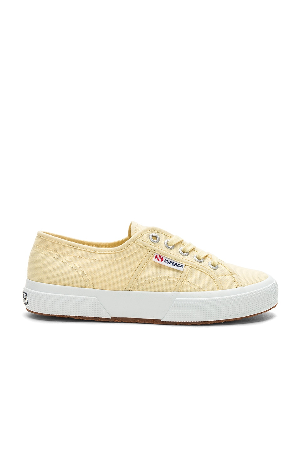 Superga 2750 Classic Sneaker in Pale Yellow