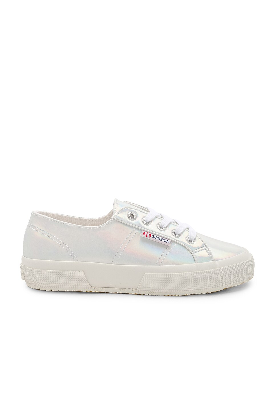 Superga 2750 Mirror Iridescent Sneaker in Iridescent