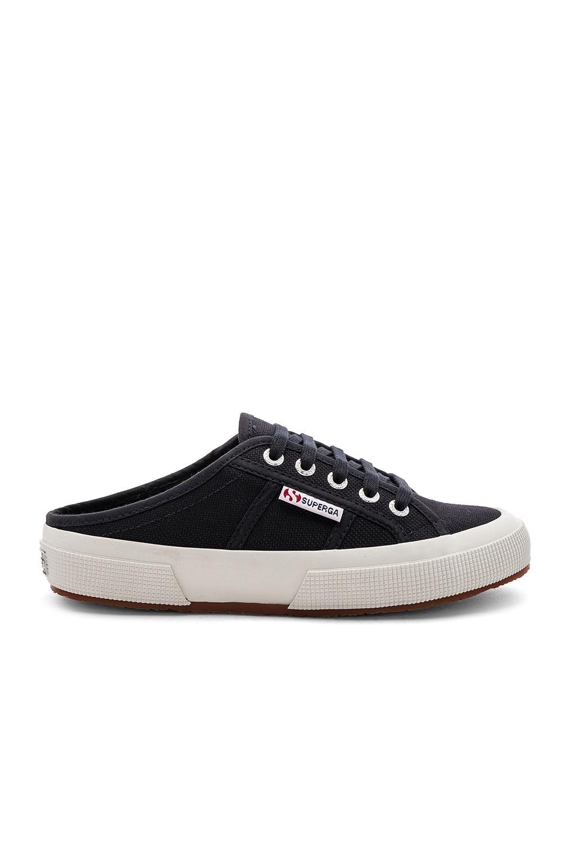 Superga Slip On Sneaker in Blue Graphite