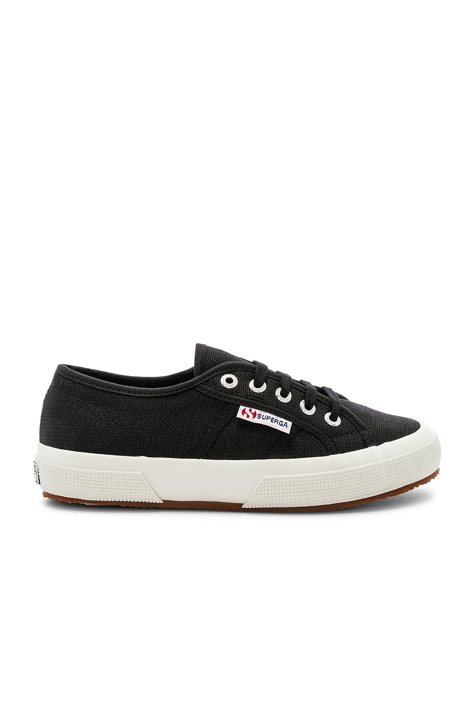 Superga 2750 COTW Sneaker in Black & White
