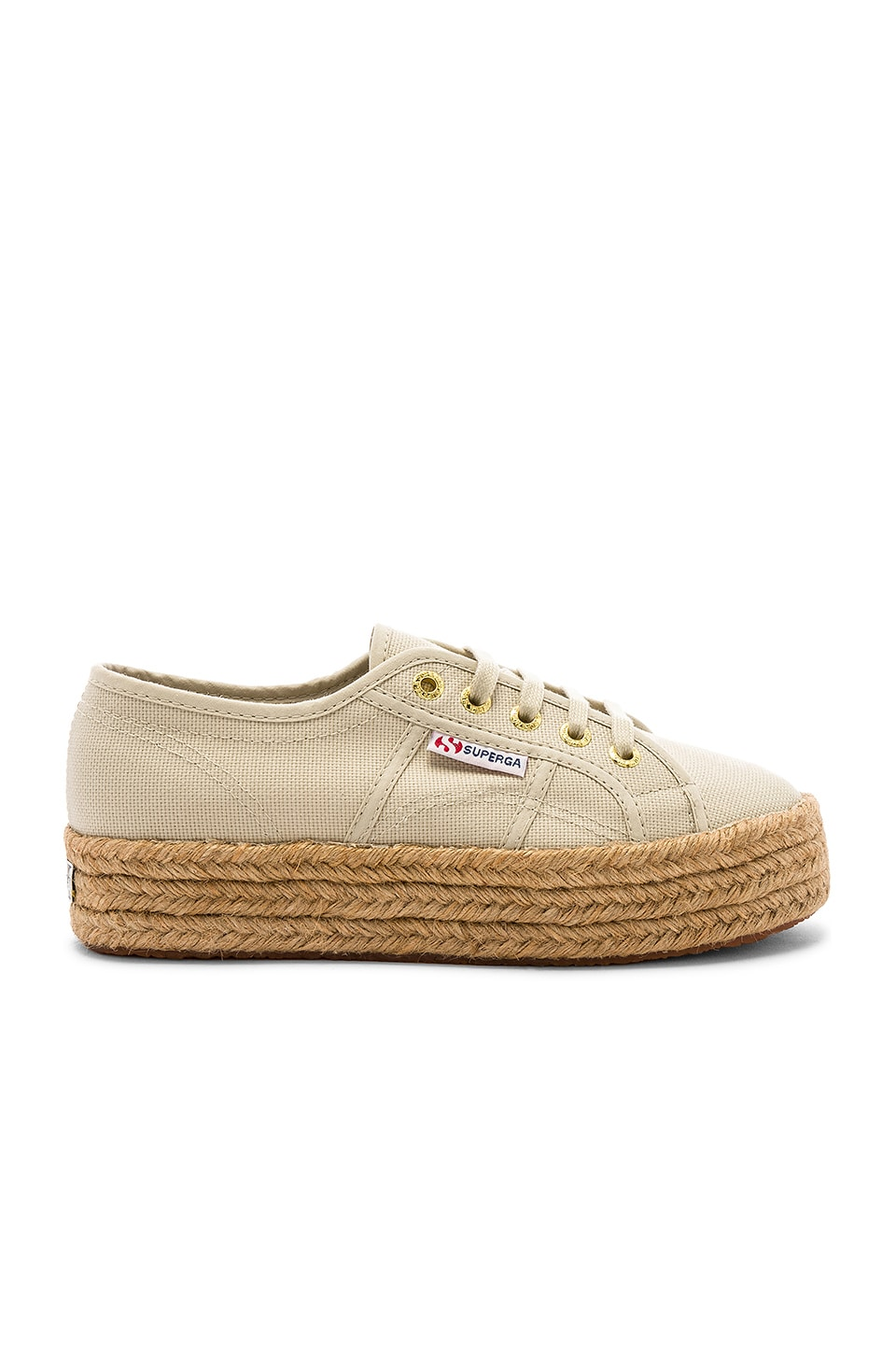 Superga 2730 COTROPEW Sneaker in Cafe Noir