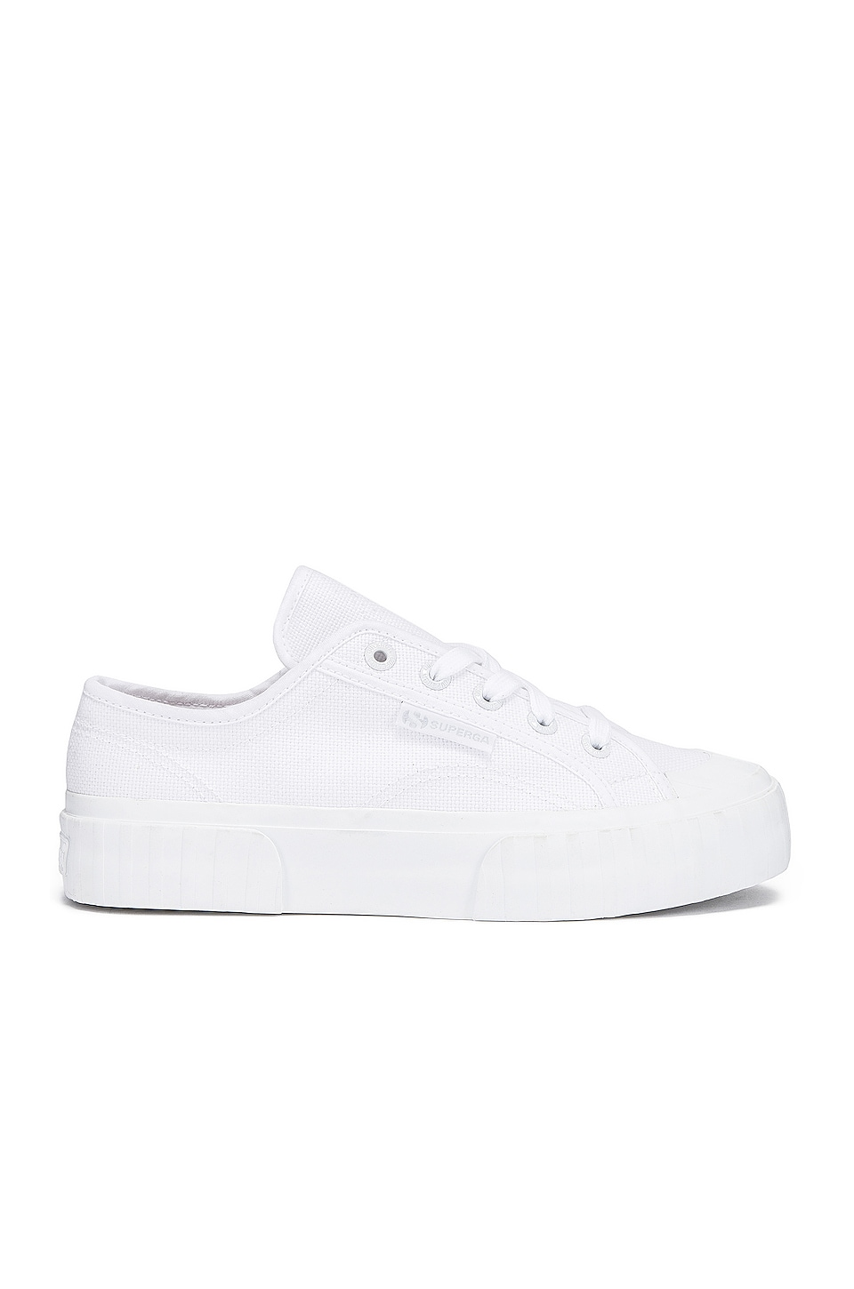 Superga 2630 COTU Sneaker in Total White