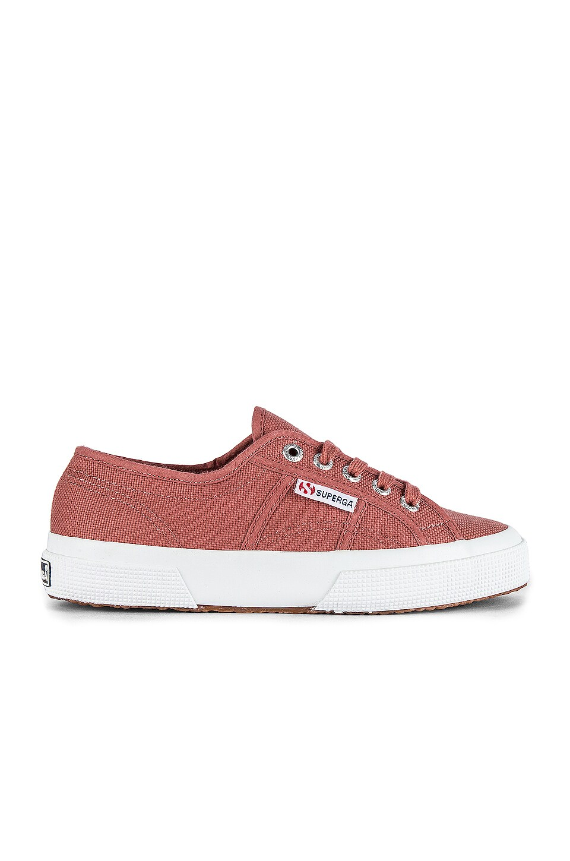Superga 2750-COTU Sneaker in Brown Pinkish