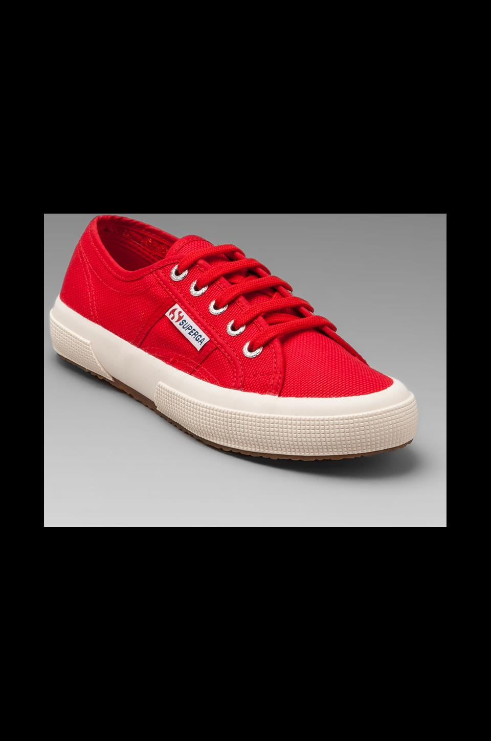 Superga 2750 Cotu Classic Sneaker in Red