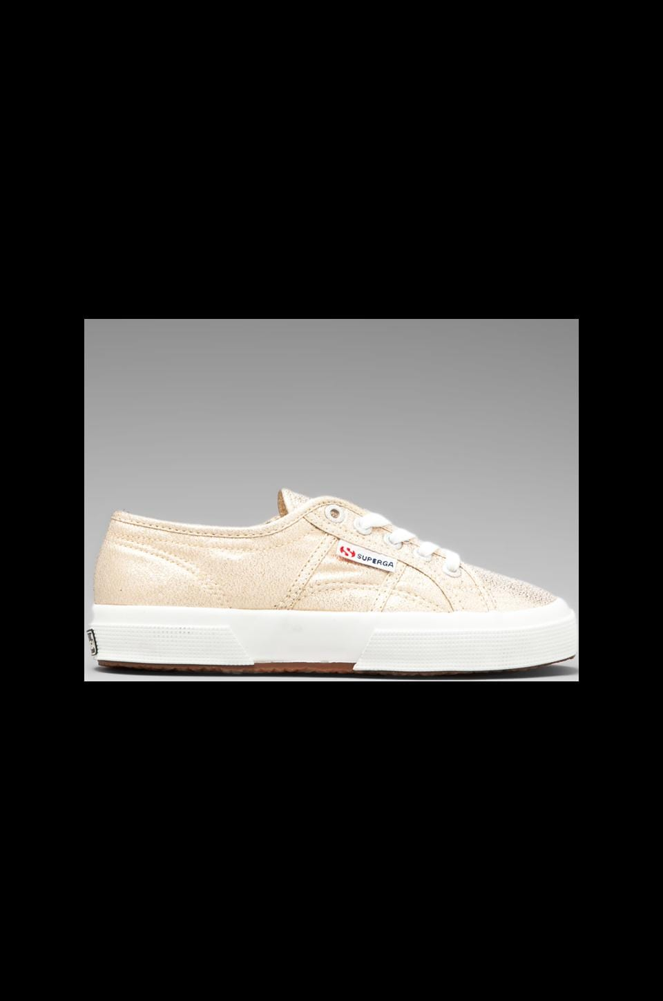 Superga 2750 Lamew Sneaker in Gold