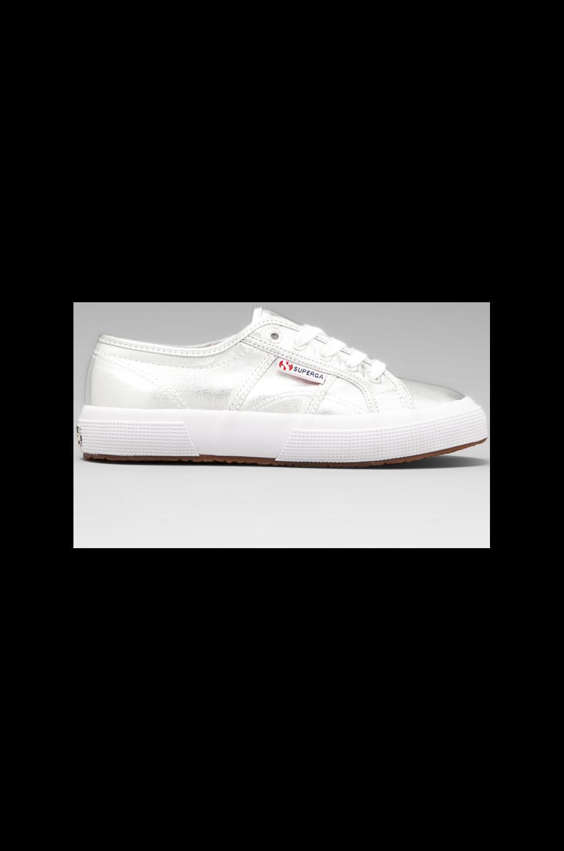 Superga 2750 Cotmetu Sneaker in Silver